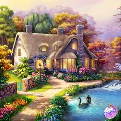 Coloring Apps, Coloring Books, Paint By Number, 2 Colours, Mansions, House Styles, Creative, Pictures, Painting