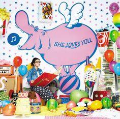 V.A.「SHE LOVES YOU」ジャケット