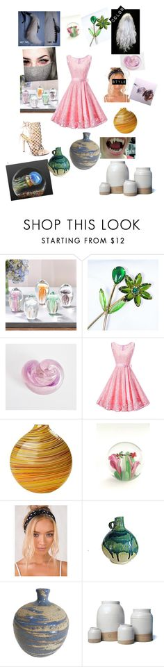 """""""Home"""" by docwho on Polyvore featuring Tozai, Marchesa, WithChic, KAOS, Caleb Siemon, Farmhouse Pottery and kitchen"""