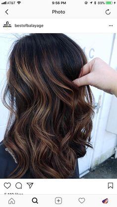 Hair color balayage biolage 58 ideas Scrumptious shades, like caramel, Hair Color Balayage, Hair Highlights, Biolage Hair, Hair Color And Cut, Hair Affair, Fall Hair, Winter Hair, Pretty Hairstyles, Hairstyle Ideas