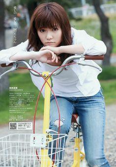 AKB48-Shimazaki-Haruka-Weekly-Playboy-April-6 http://beautifulsonglyrics.blogspot.com/2013/04/akb48-haruka-shimazaki-young-magazine.html#.UzMxZPl5Mic