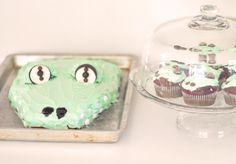 Festive Crocs-inspired treats @love Maegan's summer pool party!