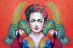 Galería: 17 Ilustraciones en honor a Frida Kahlo | NotiNerd