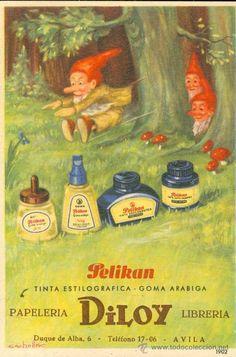 DILOY (Avila). Librería-Papelería. Publicidad. Papel secante, años 60, sin estrenar. 13x6 cm.