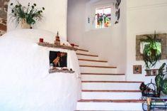 greek interior designs white
