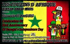 Émission du 07.04.13 – SuNuGaL 53e Anniversary Independance Day