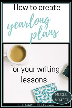 A year-at-a-glance (yag) plan will help you streamline your teaching, unit plans, and lesson plans.  You'll be able to see what you are teaching each quarter.  This post guides you through the steps of creating a yearlong plan that will help you teach all of your standards.  #writingworkshop #lessonplans #organization
