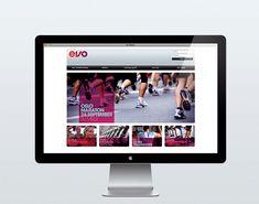EVO fitness by Mission Design, via Behance Oslo, Web Design, Personal Fitness, Polaroid Film, Behance, Branding, Apps, Inspiration, Visual Identity