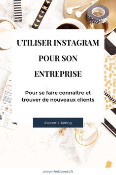 TheBBoost - Comment utiliser Instagram pour son entreprise Bio Instagram, Creative Instagram Names, Get Instagram Followers, Instagram Quotes, Business Marketing, Online Marketing, Social Media Digital Marketing, Buisness, How To Plan