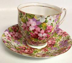 Tea Cup Set, My Cup Of Tea, Cup And Saucer Set, Tea Cup Saucer, Tea Sets, Antique Tea Cups, Teapots And Cups, China Tea Cups, Vintage Tea