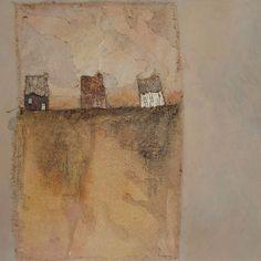 Trois Maisons Apparition I (90x90)