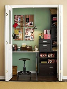 25 Great Home Office Decor Ideas #cupcakedownsouth