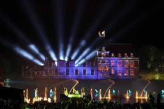 The Cinescenie Evening Show at the Puy du Fou Theme Park