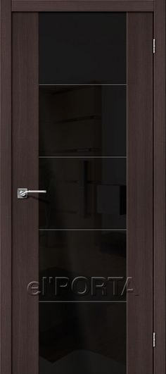 The Door Factory el'PORTA / Model: Vetro V4 Wenge