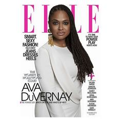 @directher Ava DuVernay on the cover of November Elle. Styled by @elleusa @narsuzo @lovingyourhair. #locs #officiallynatural #beautiful