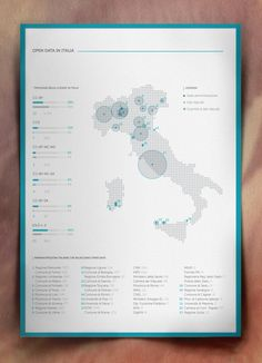 Infographic: Open Data in the World Open Data in Italia / Visual Infographics by e.g , via Behance Visualisation, Data Visualization, Map Design, Layout Design, City Layout, Chart Design, Keynote Design, Design Resume, Open Data