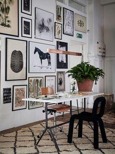 Wall art gallery inspiration