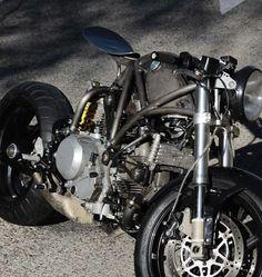 Ducati Monster by Manu Ayllón