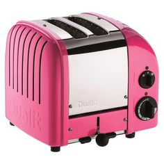 Dualit Chilli Pink New Generation Classic Toaster - 2 Slice.Opens in a new window