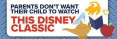 Parents Don't Want Their Child to Watch This Disney Classic Parents, Watch, Children, Classic, Disney, Music, Movies, Inspiration, Fathers