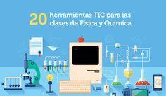 Infografía 20 herramientas TIC para las clases de Física y Química