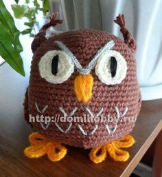 d046f3004128 ru: Crochet Owl with diagrams and photos. евгения тыченко · вязание крючком  - пригодится