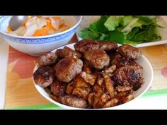 ▶ Bún chả - Vietnamese Grilled Pork with Vermicelli Recipe - YouTube