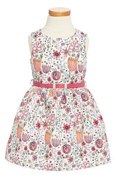 Dorissa 'Amanda' Floral Print Sleeveless Dress (Toddler Girls & Little Girls)