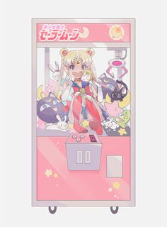 UFO Sailor Moon by AlpacaCarlesi on DeviantArt Arte Sailor Moon, Sailor Moon Fan Art, Sailor Moon Crystal, Sailor Venus, Sailor Pluto, Vaporwave Anime, Chibi, Japon Illustration, Sailor Moon Aesthetic