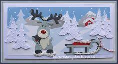 Kaarten+en+Creaties+van+Judith:+Winterlandschap...