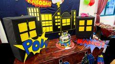 Super Hero Theme for a Kid's Party | BookEventZ #Superhero #Birthday #Party