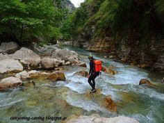 River Kalaritikos, Epirus, Greece