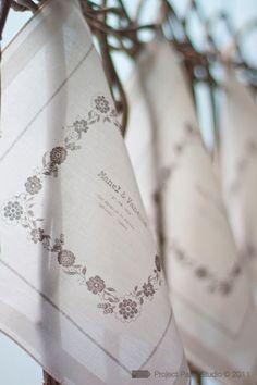 pañuelos de regalo en bodas