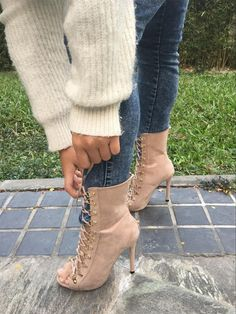Lace Up High Heel Open Toe Gladiator Boots-Women's Sandals-Look Love Lust,  https://www.looklovelust.com/products/lace-up-high-heel-open-toe-gladiator-boots