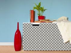 Amazon.de: yourdea Sticker für Möbel IKEA Stuva Kommode mit Motiv: Rauten SW