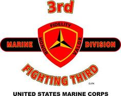 """3rd Marine Division """" Fighting Third """" United States Marine Corps"""