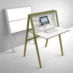 Portrayal of Want to Create Space Availability? Try These Space Saving Computer Desk Selections