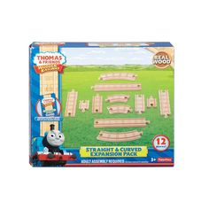 Thomas & Friends Wooden Railway Straight & Curved Expansion Pack | Toys R Us Australia
