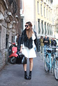 Milan Fashion Week / B&W   b a r t a b a c en stylelovely.com