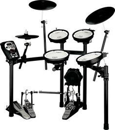 Roland V-Compact Series « Elektrisch drumstel Electronic Kits, Piano, E Drum Set, Roland V Drums, Electric Drum Set, Drum Lessons, Sound Engineer, Drum Kits, Drum
