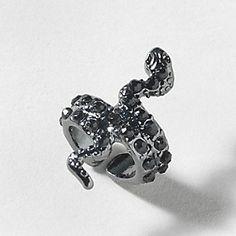 Crystal Snake Ear Cuff (Slytherin ;-).....)