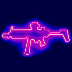 Pisto Neon Sign Real Neon Light For Sale – Hanto neon sign Neon Lights For Sale, Neon Light Signs, Neon Signs, Blue Aesthetic Pastel, Black And White Aesthetic, Photo Wall Collage, Picture Wall, Gun Aesthetic, Led Logo