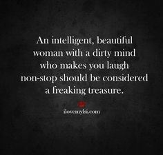 An intelligent beautiful woman. ..