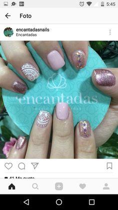 Tips Belleza, Nail Designs, Nail Art, Erika, Nails, Beauty, Ideas, Polish Nails, Short Nails