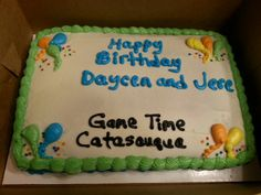 Party package cake