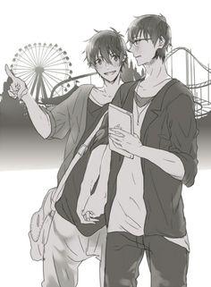 Yukio & Rin Blue Exorcist
