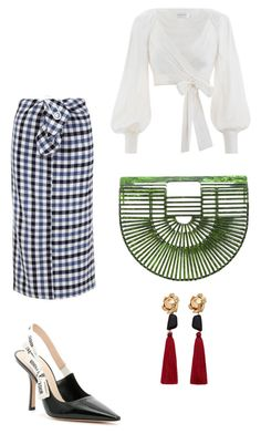 """""""Colorful."""" by hayfaaa on Polyvore featuring TIBI, Christian Dior, Zimmermann, Cult Gaia and MANGO"""