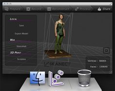 Skanect Scanning Version Officially Available for Mac Lineup of Usual Suspects - Printing Industry 3d Printing Industry, Home Design Software, Home Free, Soft Colors, 3 D, Mac Os, Platforms, Conversation, Gadgets