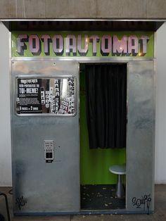 Fotoautomat. by lovebirds & seahorses, via Flickr