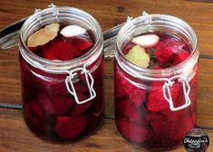 Sałatka król stołu - Obżarciuch Home Canning, Healthy Sweets, Ketchup, Preserves, Pickles, Feta, Herbs, Homemade, Vegetables